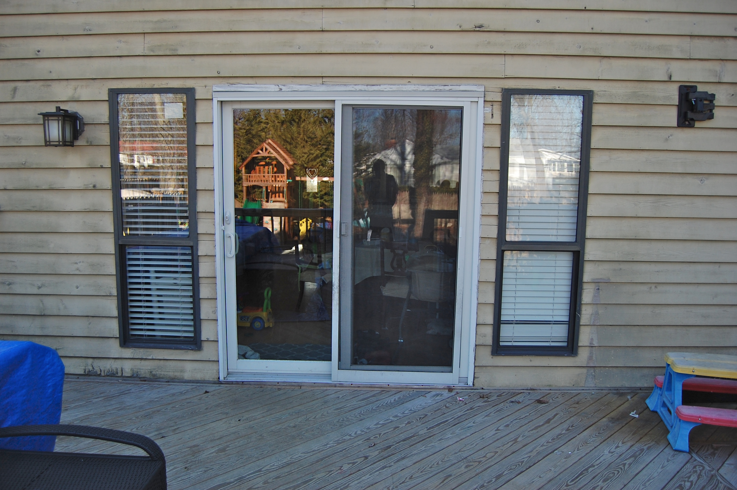 Old Patio Sliding Door