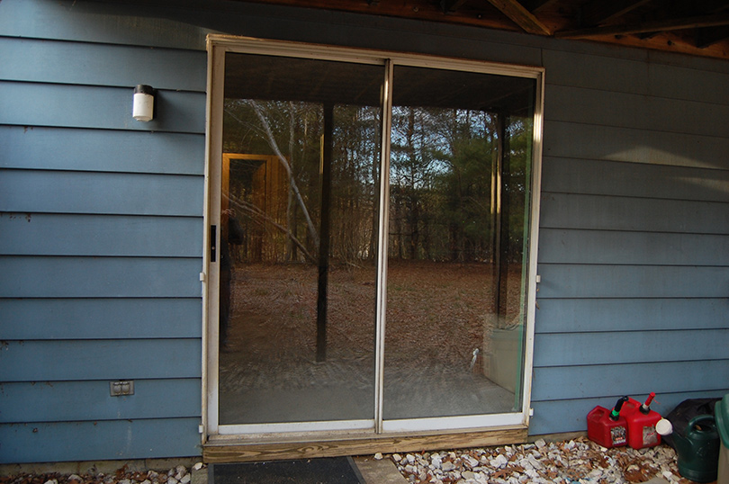 Old Sliding Glass Door