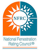 Windows are NFRC-rated