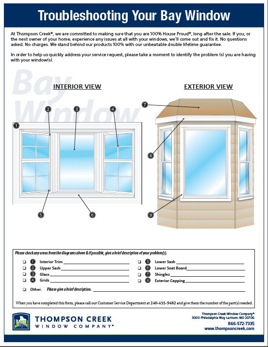 Troubleshooting Your Bay Window