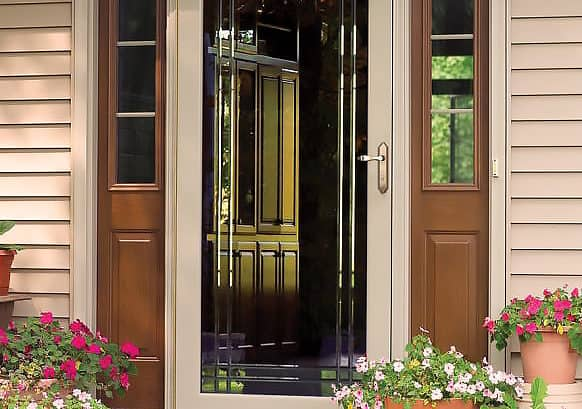 Energy Efficient Storm Doors Provide Year Round Protection