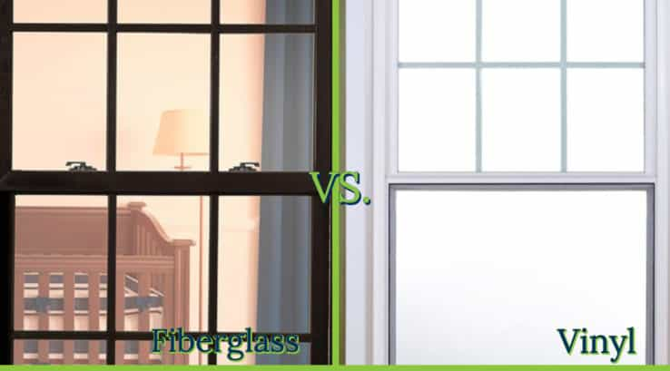 Vinyl Vs Fiberglass Replacement Windows Thompson Creek