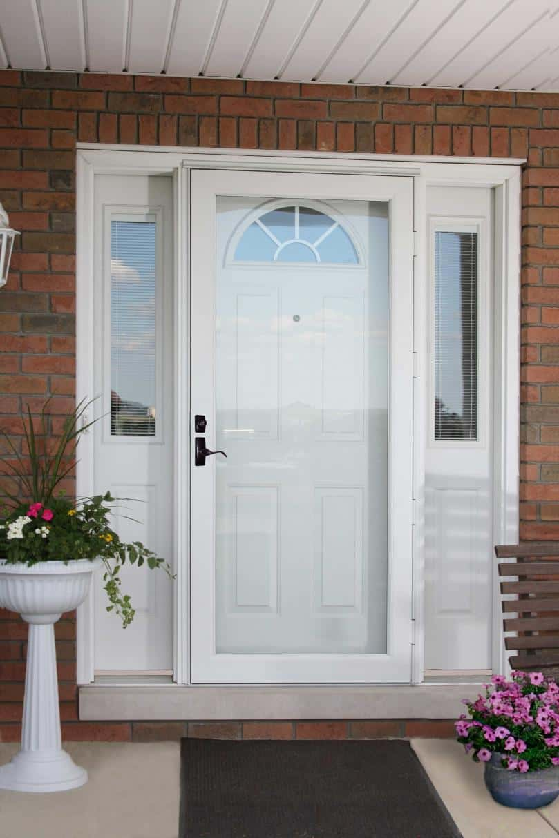 Storm Doors Add An Extra Layer Of Winter Protection Thompson Creek
