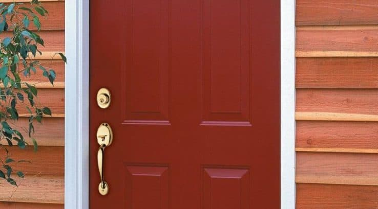 What factors impact the cost of a new front door?