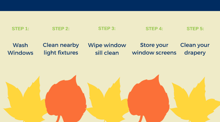 5 Steps to Window Cleanup in the Fall from the Pros
