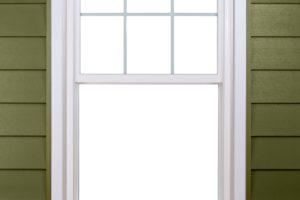 double hung exterior no screen