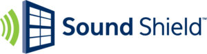 sound shield glass logo