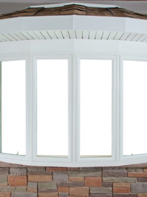 bow windows exterior closed