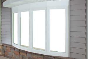 bow windows angle closed