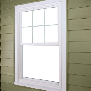 double hung exterior angle no screen