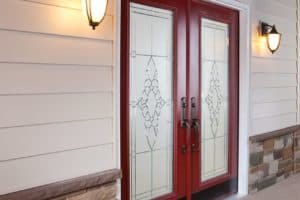 french door exterior closed