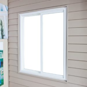 slider window exterior angle no screen