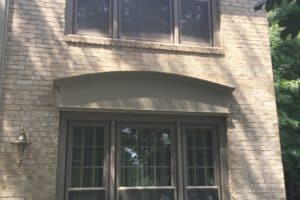 double hung windows 2 triple units