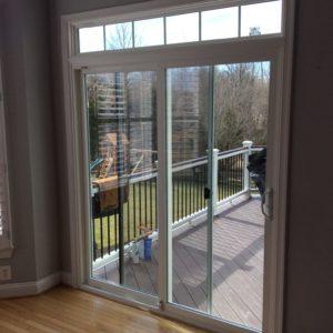 sliding patio doors interior