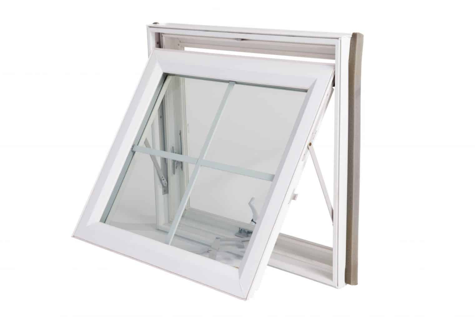 awning windows and hopper windows