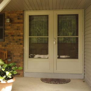 front entry door with
