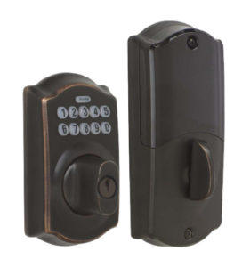 Schlage Home Keypad Deadbolt - Aged Bronze