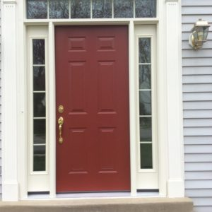 front entry door outside
