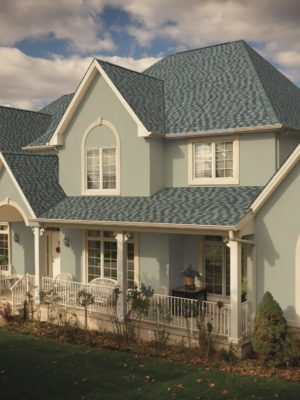 GAF's Timberline American Harvest Nantucket Morning shingles