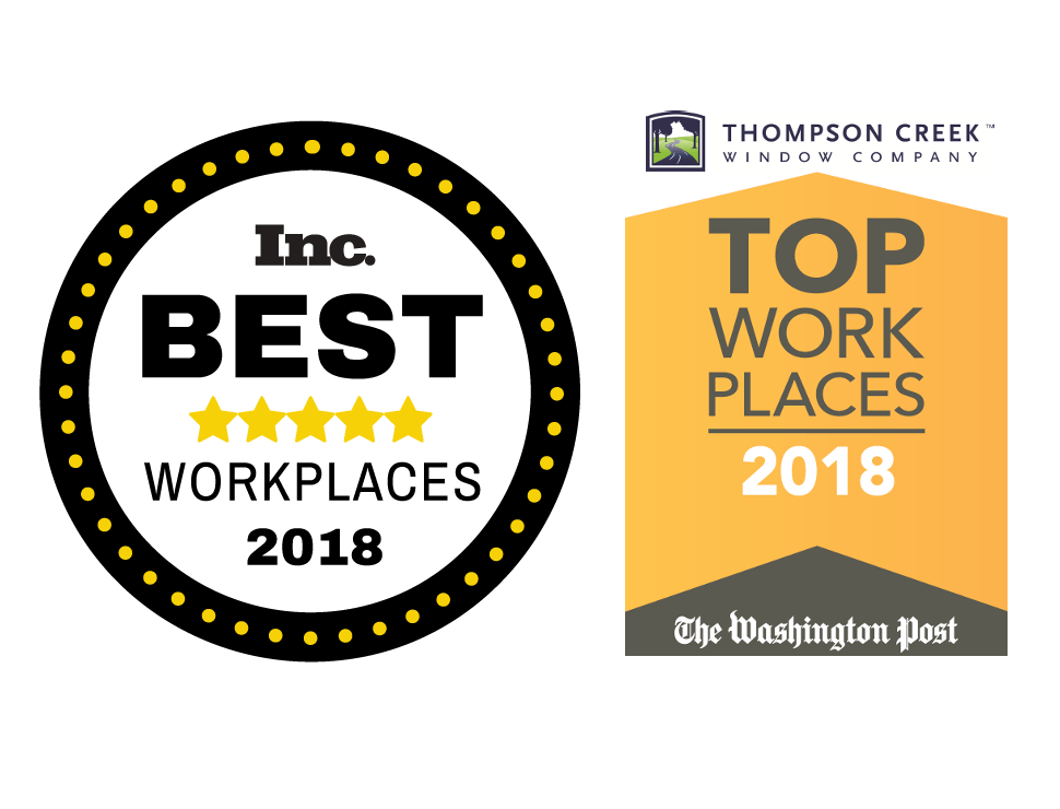 2018 inc best workplaces and 2018 washington post top workplaces award