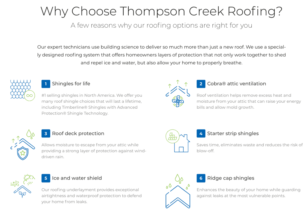 Why Choose Thompson Creek?