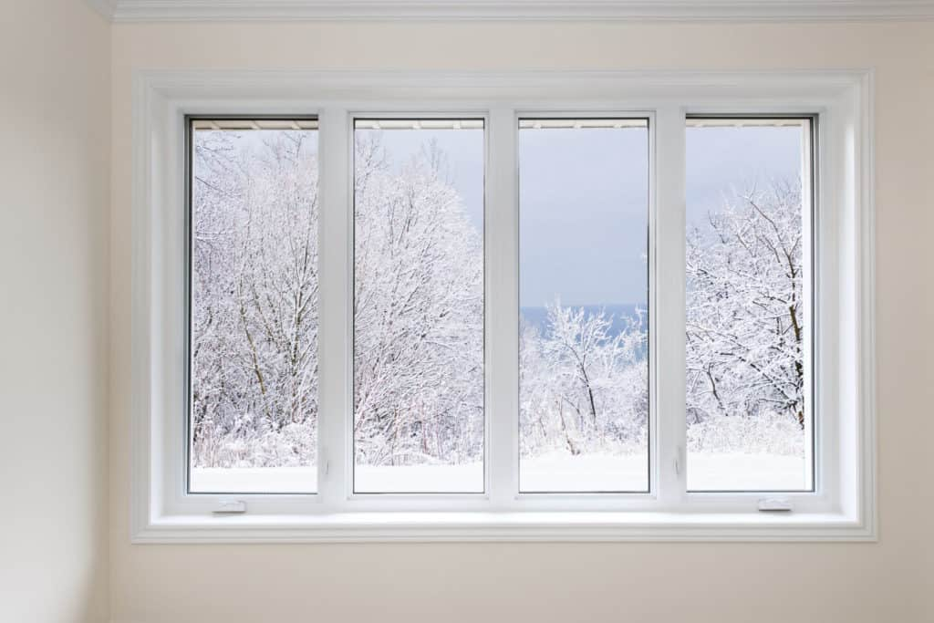 snow through replacement window