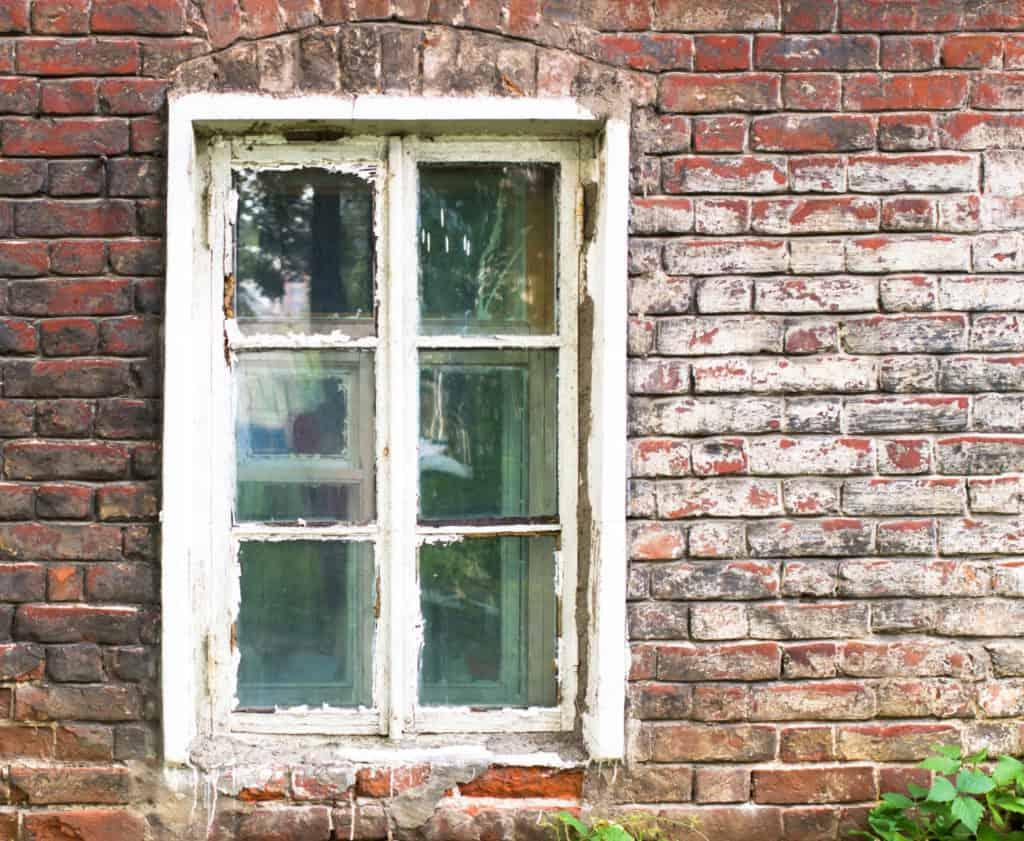 drafty window