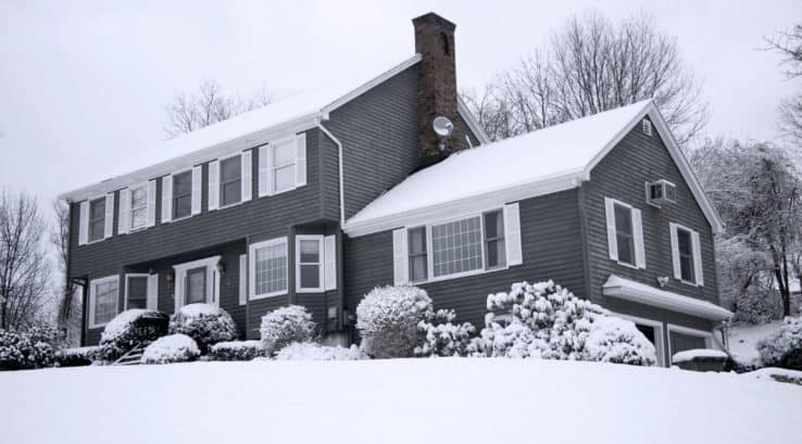 What Does Melting Snow on My Roof Mean?