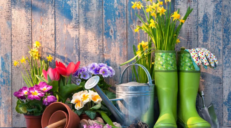 Decorating Outside for Spring and More!