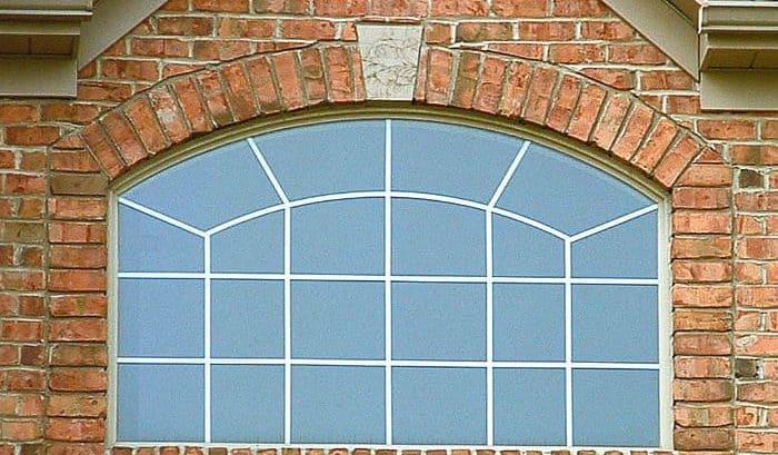 large custom transom window