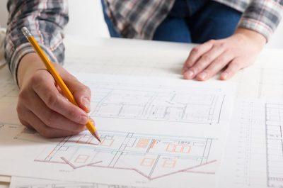 house drafting architect process