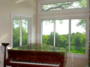 Double Sliding Window and Triple Sliding Window with Transom