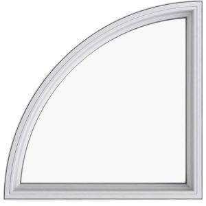 Quarter Arch Window